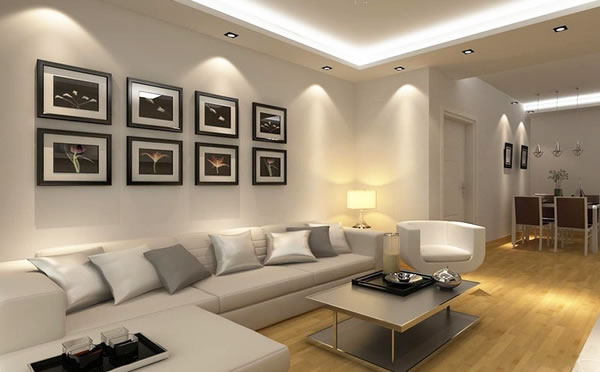 简约风格两居室装修设计图片